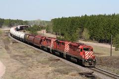 CP 430-08, CP 5900 East (Nomar Tyson-Rales) Tags: cp sd402 5900 ovr ottawa valley railway rlk railink chalk river sub camspur petawawa ontario train trains
