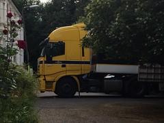 Lorry (My photos live here) Tags: lorry removal van truck road blocked no way through mcgilpin ryal tunbridge wells kent england i phone 5s