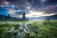 Tamblingan Dawn (Tirta Winata) Tags: indonesia bali tamblingan lake mountain sunrise dawn temple landscape fineart
