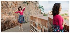 Re:Parada Bamboo (minu_minu) Tags: girl woman ballerina ballet dancer street bricks brno fashion bamboo thirts brand clothes clothing skirt nikon d750 czech