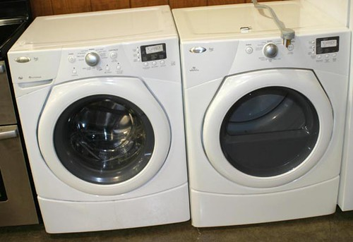 Whirlpool Duet Front Load Washer & Dryer ($313.60 each)