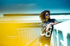 _DSC8155 (L a t i t u d e) Tags: girl model curlyhair bokeh sunglasses nikond3 sigma50mmf14art