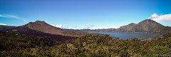 Batur Caldera (Tirta Winata) Tags: indonesia bali batur lake caldera kedisan trunyan sky blue landscape fineart panorama panoramic 6x17 617