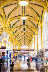 An Airport Named After Ronald Reagan (Thomas Hawk) Tags: dc dca districtofcolumbia national reagannational ronaldreaganwashingtonnationalairport usa unitedstates unitedstatesofamerica washingtondc airport architecture