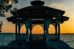 Punta Gorda (Simone Della Fornace) Tags: sunset architecture sea travel traveldestination tourism cuba cuban cienfuegos sony a7rii sky water summer building