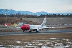 Norwegian - EI-FHG - B737-800 (Aviation & Maritime) Tags: eifhg norwegian norwegianair norwegianairinternational boeing boeing737 b737 b737800 boeing737800 osl engm osloairportgardermoen oslolufthavngardermoen osloairport gardermoen norway