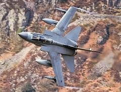 Dirt (Dafydd RJ Phillips) Tags: snowdonia wales fighter jet military combat mach loop low level panavia tornado gr4 royal air force raf marham za472