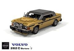 Volvo 262C Bertone Coupe (lego911) Tags: volvo 262 262c c bertone coupe auto car moc model miniland lego lego911 ldd render cad povray lugnuts 106 exclusiveedition exclusive special limited edition 1970s 1977 sweden v6 prv 27 foitsop challenge luxury personal