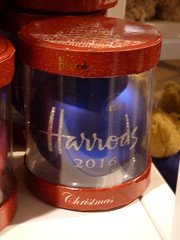 Harrods Christmas Bauble Harrods London Aug 2016 A (symonmreynolds) Tags: harrods christmas bauble london august 2016