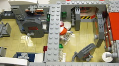 SHIPtember 2016 WIP - 9a (DJ Quest) Tags: lego shiptember space ship spaceship moc wip airlock area door doors mini fig minifig