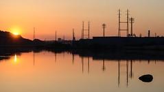 You Light up my life (Lojones13) Tags: orange sky light sun newjersey richardwdekorte park serene morning reflection silhouette sunrise