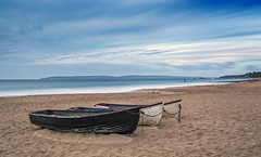 Purbeck View (nicklucas2) Tags: beach seascape boat sea sand seaside purbeckhills bigstopper