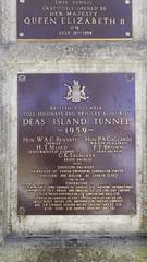Deas Island Tunnel Plaque 2 (Bad Biker Benny) Tags: deas island tunnel her majesty queen elizabeth second 2nd ii 15 july 1959