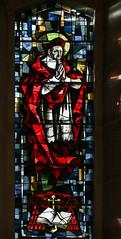 St Robert Bellarmine (Lawrence OP) Tags: robert saints bellamine cardinal jesuit baltimore cathedral stainedglass window