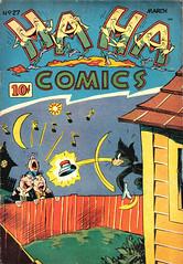 Ha Ha 27 (Michael Vance1) Tags: comics comicbooks cartoonist art artist anthology goldenage funnyanimals fantasy funny humor