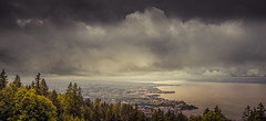 Clouds over the lake (hploeckl) Tags: lake lakeconstance switzerland rohrschach stgallen clouds nature nikon d7000 100240mm dark mood moody