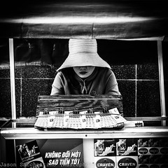 Lottery ticket (Nha Trang - Vit Nam) (Jason WastePhotography) Tags: asia vietnam travel seller street buy win loose hate girl art photography