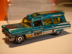 MATCHBOX 1963 CADILLAC AMBULANCE NO9 BEVERLYWOOD EMT 1/64 (ambassador84 OVER 6 MILLION VIEWS. :-)) Tags: matchbox 1963cadillacambulance diecast