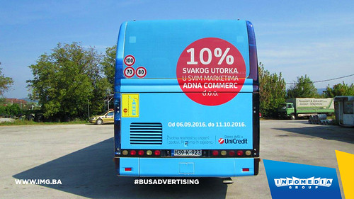 Info Media Group - UniCredit banka, BUS Outdoor Advertising, 09-2016 (4)