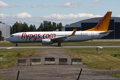 Pegasus TC-CPY, OSL ENGM Gardermoen (Inger Bjrndal Foss) Tags: tccpy pegasus boeing 737 osl engm norway gardermoen