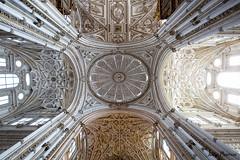 Crdoba - Mosque Cathedral (JOAO DE BARROS) Tags: spain crdoba mosque cathedral architecture joo barros monument ceiling