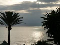 De zon komt op. Nog even en het is warm! (NellyvanZwol) Tags: spanje estepona zonsopkomst