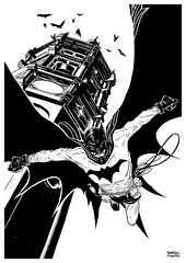 Batman (rafaeltpimentel) Tags: batman bat bats comics darkknight comicbook bandedessinee historietas hq quadrinhos poster print character characterconcept characterdesign design dessin dibujo diseno desenho draw drawing illustrazione illustration ilustração ilustracion ilustra