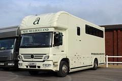 Neil Mulholland, Limpley Stoke X2 NPM, Mercedes Atego in Cheltenham (majorcatransport) Tags: neilmulhollandlimpleystoke cheltenham somersethaulage mercedesbenz mercedesatego