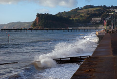 Wet Nose (Richie B.) Tags: teignmouth beach sea front pier devon shaldon teign