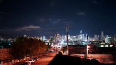 October night in San Francisco (deekomalley) Tags: timelapse san francisco skyline starrynight sony