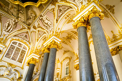 Hermitage gold (gloriagv) Tags: architecture saint petersbourg russia hermitage museum gold building urban travel