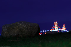 Mackinac Bridge (apurvajoshi1) Tags: bridge bokeh michigan night nightphotography mackinac island upperpeninsula upnorth lakemichigan