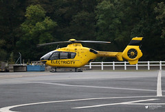 G-WPDD Eurocopter EC135 P1, WPD Helicopter Unit, Trebrown Heliport, Liskeard, Cornwall (Kev Slade Too) Tags: gwpdd eurocopter ec135 wpdhelicopterunit castlemotorsltd trebrown liskeard cornwall