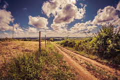 Serbian Countryside (SaltySerb) Tags: serbia countryside clouds cloud nature landscape road green