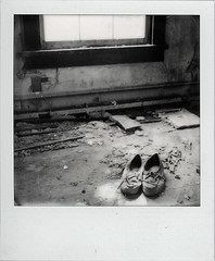 Abandoned Mansion (///Brian Henry) Tags: polaroidweek roidweek roidweek2016 impossible abandoned urbex decay ghost hospital maryland