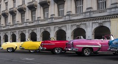 Cuba, Havana, and cars in colour (Time to try) Tags: cuba cars americancars colour lumix gx8 topaz havana chevrolet buick dodge mft microfourthirds timetotry copyrightbhammersley2016 oldhavana