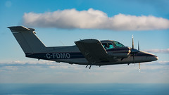 Twin Formation (Ben_Senior) Tags: thunderbay dryden ontario canada northernontario flying fly aviation airplane plane aircraft formation aerial pilot pilots ppl flight lakes landscape wilderness cessna172 cessna 172 c172 beechcraft be76 beechcraftduchess twin twinengine sky forest