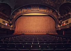 the show (Desolate Places) Tags: abandoned temple theater