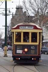 45_2_Bendigo_2Sept2016 (nzsteam) Tags: bendigo tram talking workshops depot birney mmtb w8 street running