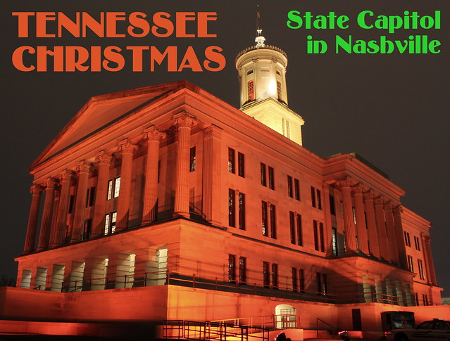 Things for Sale: Postcard -Tennessee Christmas
