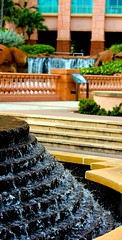 Fountain (LarryJay99 ) Tags: cruise water fountain stairs waterfall bokeh steps resort caribbean waterfeature royalcaribbean paradiseisland thebahamas caribbeansea canonefs60mmf28macrousm 60d canon60d rockscolors allureoftheseas ilobsterit canonefs60mmf28macrousa