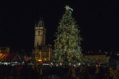 Old Town Prague Christmas 2014 (aproudlove) Tags: christmas city travel holiday tree monument festive prague market praha tourist historic oldtown celebrate 2014 mesto sonya6000