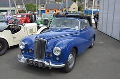 Sunbeam-Talbot 90 Cabriolet 1954 (claude 22) Tags: sunbeam talbot rallyeinternationaldupaysdefougeres saintbrieuc lelegue 2014 appf fougeres sunbeamtalbot90cabriolet1954 classic vintage automotive car automvil classique rallye claude22