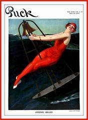 1915 June 12, Cover Puck 'Channel Belles' by Enoch C. Bolles (carlylehold) Tags: robert haefner robertchaefner