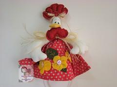 Cocs... (Ma Ma Marie Artcountry) Tags: chicken galinha cozinha cocs portapanodeprato galinhacountry galinhaemtecido