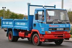 S496UOC (stamper104) Tags: truck tipper 45 leyland daf 160 haulage hargreaves alltypesoftransport transportintheframe