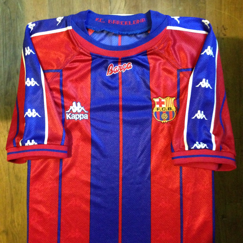 8bd421211c3 1997-1998 FC Barcelona Home Jersey (Canapial) Tags  barcelona home sport  shirt