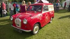 Austin A30 Van - Pickering's Gin (jambox998) Tags: edinburgh mobil van gin distillery a35 summerhall