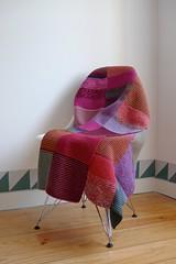 Manta (Mi Mitrika) Tags: tricot handmade riscas manta l quadrados papertilles