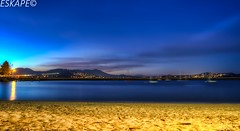 LE HDR Aquatic Park SF (eskapeproduction) Tags: longexposure beach landscape twilight sony le hdr topaz adjust photomatix 4exp a6000 triggertrap